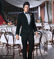 Classic Tuxedo for Genesis 3 Male(s) 86972