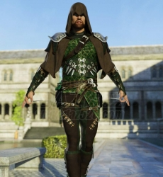 Raven Guild Assassin Outfit for Genesis 8 Male(s) 74979