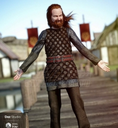 Lief Viking Outfit for Genesis 8 Male(s) 87030